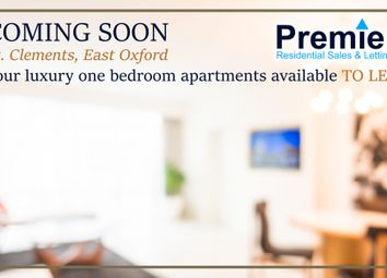 Thumbnail 1 bedroom flat to rent in St. Clements Street, Oxford