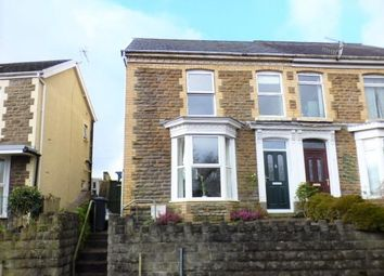 Thumbnail 4 bed semi-detached house for sale in Longford Road, Neath Abbey, Neath