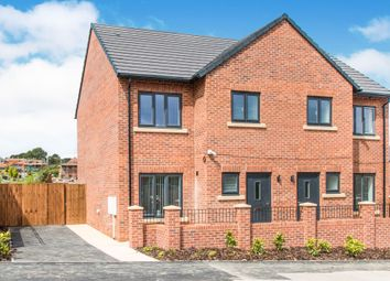 Thumbnail 3 bed semi-detached house for sale in Greenview Mount, Leeds