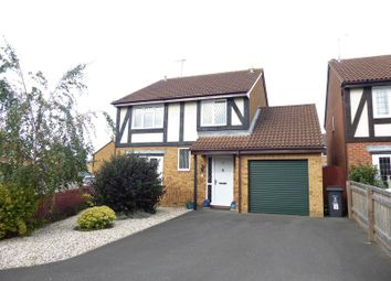 Thumbnail 4 bed detached house for sale in Godwin Road, Stratton, Swindon