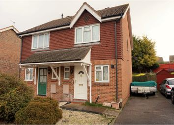 Thumbnail 2 bed semi-detached house for sale in Richmond Drive, Gravesend