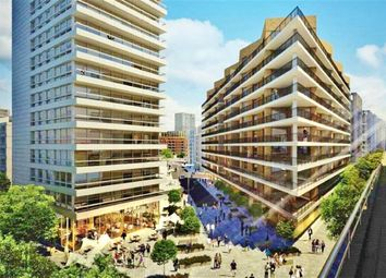 Thumbnail 3 bed flat to rent in Liner House, 2 Royal Wharf Walk, London