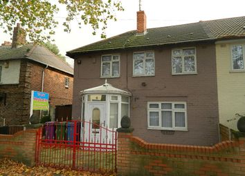 Thumbnail 3 bed semi-detached house to rent in Lisburn Lane, Old Swan, Liverpool