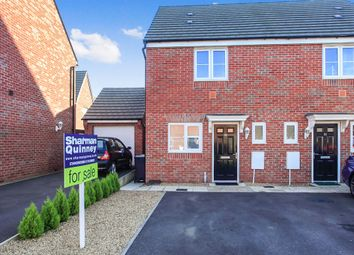 Thumbnail 2 bed semi-detached house for sale in Lander Crescent, Hempstead, Peterborough