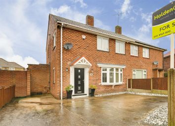 Thumbnail 3 bed semi-detached house for sale in Stanhope Crescent, Arnold, Nottinghamshire