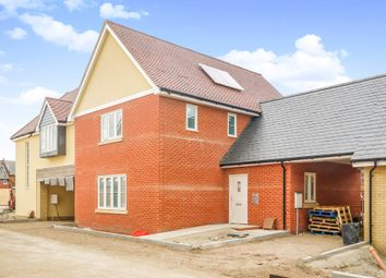 Thumbnail 3 bed link-detached house for sale in Long Melford, Sudbury, Suffolk
