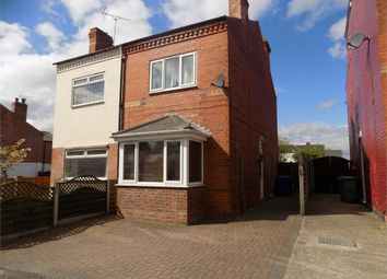 Thumbnail 2 bed semi-detached house to rent in Carlton Road, Worksop, Nottinghamshire