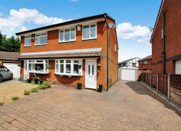 Thumbnail 3 bed semi-detached house for sale in Aldford Grove, Bradley Fold, Bolton