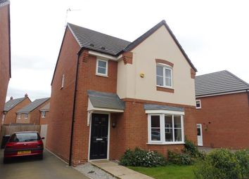 Thumbnail 3 bed detached house to rent in Amber Way, Burbage, Hinckley