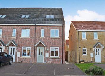 Thumbnail 3 bed end terrace house for sale in Braeburn Road, Sherburn In Elmet, Leeds
