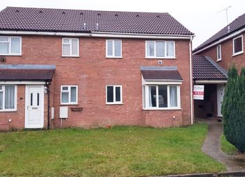 Thumbnail 1 bed terraced house to rent in Twigden Court, Luton