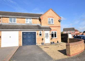 Thumbnail 3 bed semi-detached house for sale in Cornflower Close, Stamford