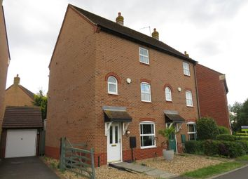 Thumbnail 4 bedroom semi-detached house for sale in East Water Crescent, Hampton Vale, Peterborough