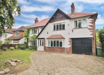 Thumbnail 5 bed detached house for sale in Broad Walk, Wilmslow