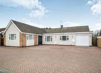Thumbnail 4 bed bungalow for sale in Barry Drive, Kirby Muxloe, Leicester