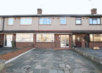 Thumbnail 3 bed terraced house to rent in Birkdale Avenue, Harold Wood, Romford