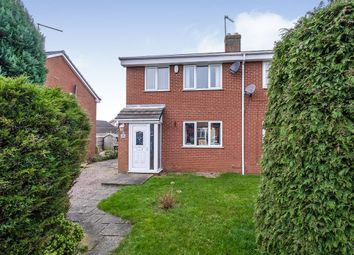 Thumbnail 3 bed semi-detached house for sale in Hunters Drive, Dinnington, Sheffield, South Yorkshire