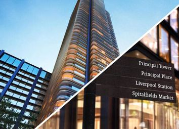 Thumbnail 1 bed flat for sale in Principal Place, Worship Street, Shoreditch, London
