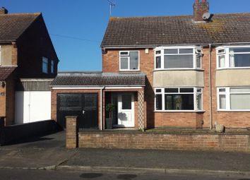Thumbnail 3 bedroom semi-detached house to rent in Lodge Road, Rushden