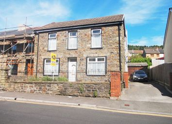 Thumbnail 4 bedroom semi-detached house for sale in Park Road, Cwmparc, Treorchy, Rhondda Cynon Taff.
