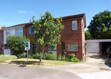 Thumbnail 4 bed semi-detached house for sale in Onehouse, Stowmarket, Suffolk