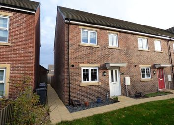Thumbnail 3 bed end terrace house for sale in Canal Court, Hempsted, Gloucester