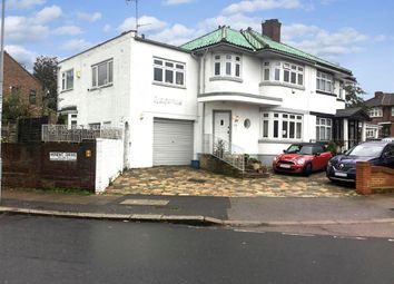 Thumbnail 4 bed semi-detached house for sale in Herent Drive, Clayhall, Ilford, Essex