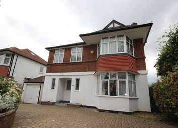 Thumbnail 4 bed detached house to rent in Audley Road, Ealing, London