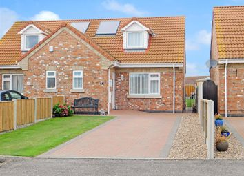 Thumbnail 3 bed semi-detached bungalow for sale in Sidney Close, Chapel St. Leonards, Skegness