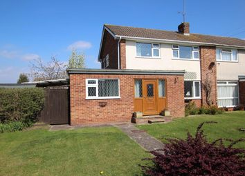 Thumbnail 3 bed semi-detached house for sale in Kingfisher Drive, Woodley