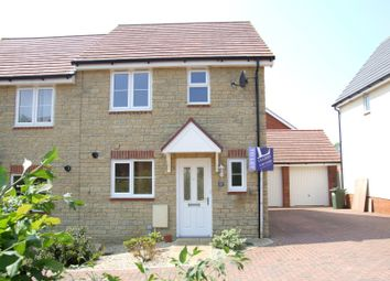 Thumbnail 3 bed semi-detached house to rent in Charlesby Drive, Watchfield, Swindon