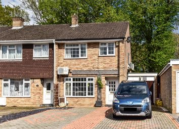 Thumbnail 3 bed end terrace house for sale in Lynwood Drive, Mytchett, Camberley, Surrey