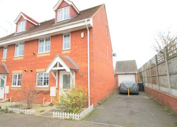 Thumbnail 3 bed semi-detached house for sale in Giles Field, Gravesend