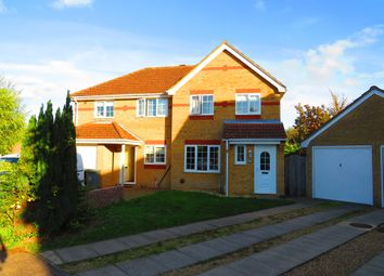 Thumbnail 3 bed semi-detached house for sale in Springwood, Taverham, Norwich