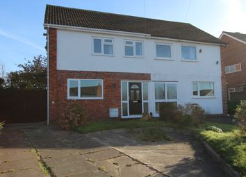 Thumbnail 3 bed semi-detached house to rent in Lansdowne Crescent, Tamworth