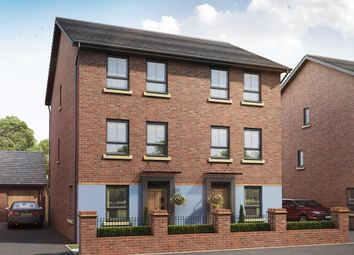 "Thumbnail 4 bed semi-detached house for sale in ""Faversham"" at Tay Road, Lubbesthorpe, Leicester"