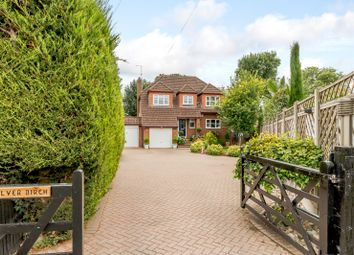 Thumbnail 4 bed detached house for sale in Brookside Avenue, Staines-Upon-Thames