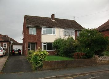 Thumbnail 3 bed semi-detached house to rent in Church Road, Tupsley, Hereford