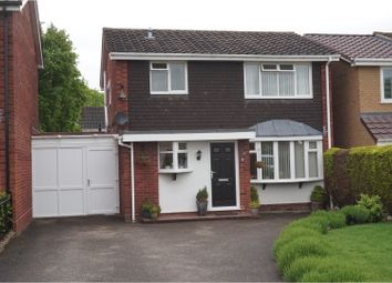 Thumbnail 4 bed link-detached house for sale in Tean Close, Burntwood