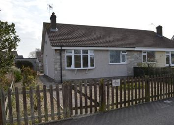 Thumbnail 2 bed semi-detached bungalow for sale in Blenheim Close, Worle, Weston-Super-Mare