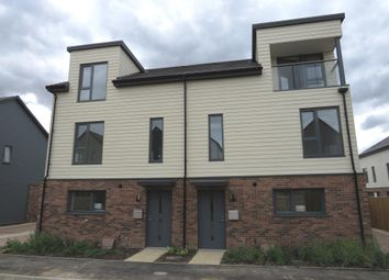 Thumbnail 4 bedroom town house for sale in Stockholm Chase, Broughton, Milton Keynes