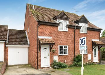 Thumbnail 2 bedroom semi-detached house for sale in Hawthorne Way, Great Shefford, Hungerford