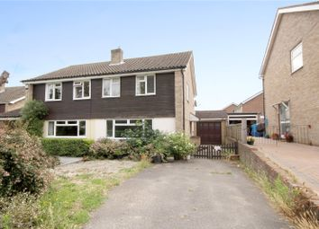 Thumbnail 3 bed semi-detached house for sale in Ongar Hill, Addlestone, Surrey