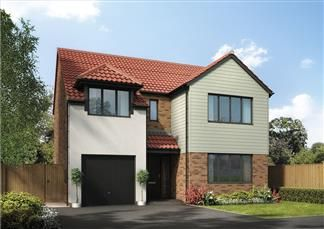 Thumbnail 4 bed detached house for sale in The Acacia, Holystone Way, Holystone, Newcastle Upon Tyne