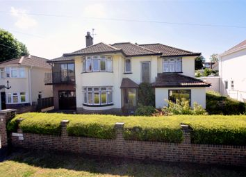 Thumbnail 5 bed detached house for sale in Beach Road West, Portishead, Bristol