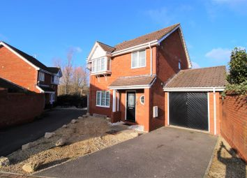 Thumbnail 3 bed detached house for sale in Exmoor Close, Swindon