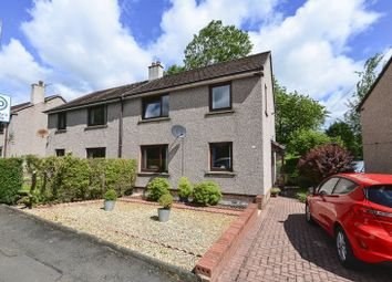 Thumbnail 4 bedroom semi-detached house for sale in Mill Road, Queenzieburn, Kilsyth, Glasgow