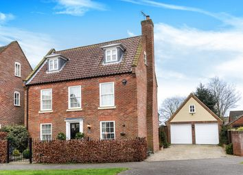 Thumbnail 4 bedroom detached house for sale in Neil Avenue, Holt