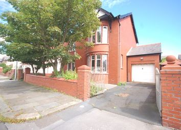 Thumbnail 4 bed detached house for sale in Gosforth Road, Blackpool