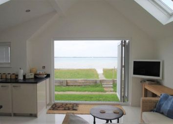 Thumbnail 1 bed detached bungalow for sale in Beachside Chalets, Marsh Road, Gurnard, Isle Of Wight